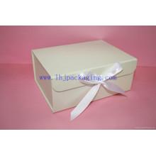 Caja de embalaje plegable de papel personalizado