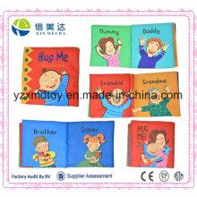 Pano de Reconhecimento de Relação de Família Livro de Inglês Livro de Educatinal de Bebê