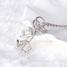 Especial! Tailandês 925 prata esterlina colar de pingente de jóias de peso pesado