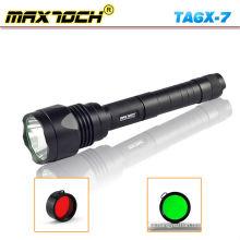 Maxtoch TA6X-7 linterna táctica Super alta potencia linterna