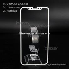 В наличии протектор экрана из закаленного стекла, 9ч 0.33mm Анти-отпечатков пальцев нано-жидкость протектор экрана для iPhone X / 8 / 8plus