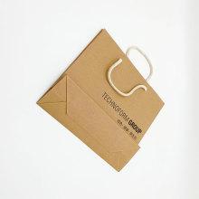 Individuelle Kraftpapier-Einkaufstasche für Unternehmen