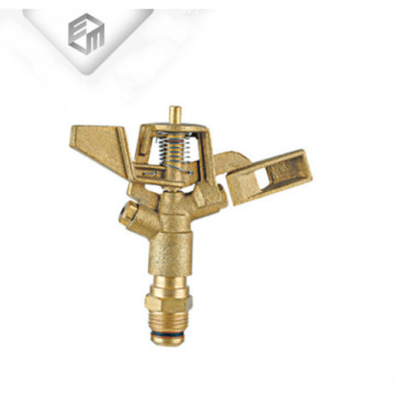 Brass rotating agriculture irrigation garden water sprinkler head