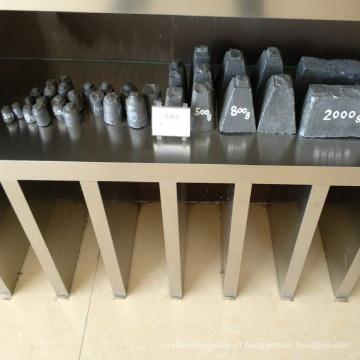 material de fundição de ferro fundido uso inoculante bloco de ferro-liga FESIZR FESIZR FESIMG 20G 40G 60G 500G para o Irã