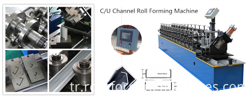 CU Channel Roll Forming Machine