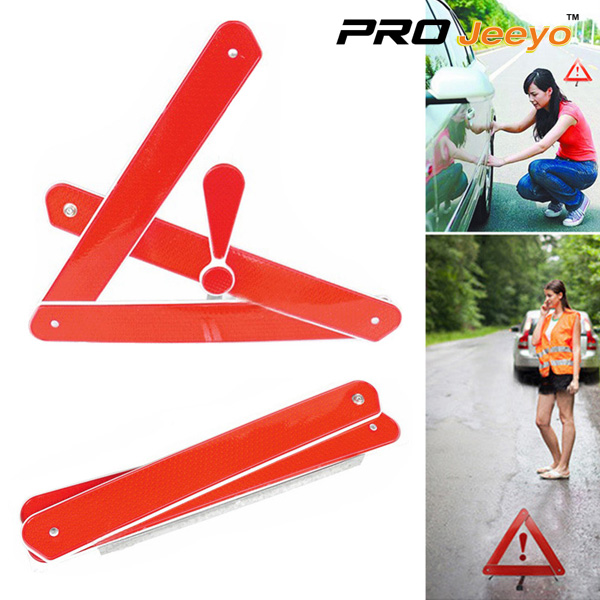 Reflective Stop Signs Car Tripod DL-206 11