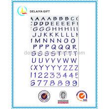 ПВХ/EVA пены наклейка буквы алфавита