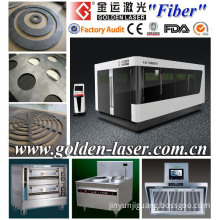 500W 1kw 2kw Fiber Laser Metal Cutter for Sheet Metal, Cabinets, Electric Panel, Auto Parts, Signage