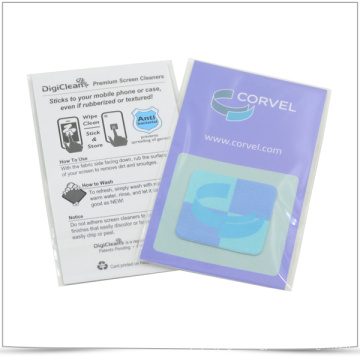 Microfiber Cleaning Mobile Phone Sticker