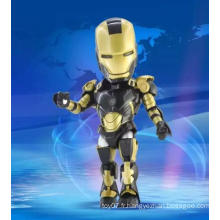 Figurine d'action mobile 3D personnalisée Doll Kids Learning Plastic Toys