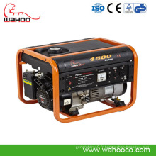 Générateur portatif d'essence de puissance de 1kw1.5kw, générateur à la maison avec du CE (WK1500)