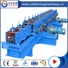 Supermarket Metal Shelf Panel Roll Forming Production Machine