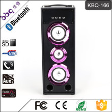 Rechargeable USB/TF/FM raido/ bluetooth sound speaker system