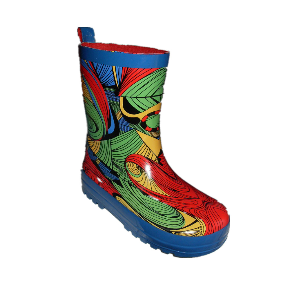 printing rubber boots