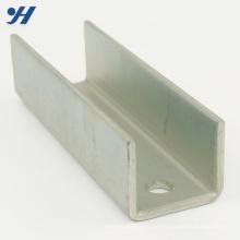 U-Kanal verzinkter perforierter Stahl