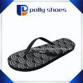 Men′s Original Solid Black Flip Flop Sandals Size 7