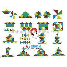 magnetic triangle jigsaw puzzle cube