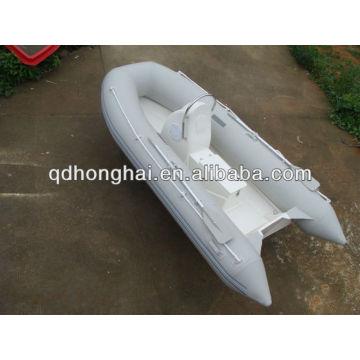 RIB 270 rigid inflatable fiberglass boat