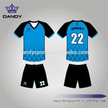 Custom Mesh Fabric Soccer Jerseys