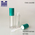 4ML Round Metallic Clear  Lip Gloss Case