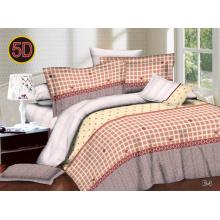 Impression dispersée de tissu de polyester de 100% pour la feuille de lit