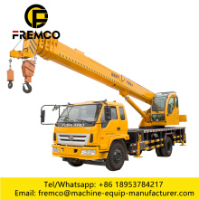 Crane Truck for Building Construction Site