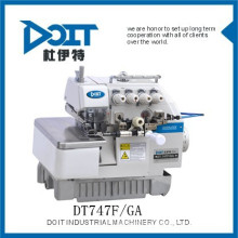 FOUR THREAD GATHERING Overlock Sewing machine price DT747F/GA for SKIRT