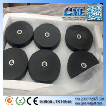 1 Magnet Neodyme Rubber Coated Neodymium Magnets