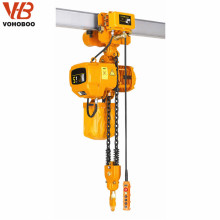 professional manufacturer for 500 kg electric chain hoist with copper motor
