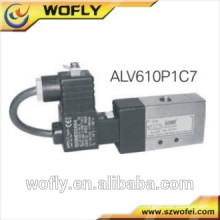 Electrovanne 5/2 voies en acier inoxydable 24v DC