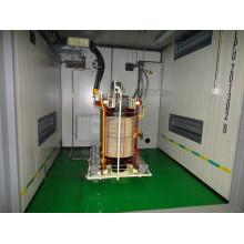 Tipo de contenedor, transformador de corriente baja de alto voltaje