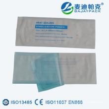 Heat Sealing Medical Sterilisation Flachbeutel für EO / Steam Medical Equipment