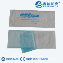 Heat Sealing Medical Sterilization Flat Pouch for EO / Steam Medical Equipment