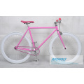 Single Speed ​​Fahrrad Fixed Gear Frame Fixie Fahrrad