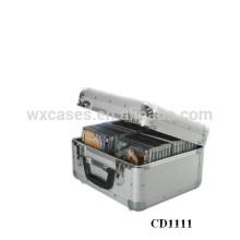 Оптовая высокого качества 40 CD дисков (10 мм) алюминиевых CD-box