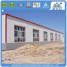 Schnell bauen billig C Typ Pfette Stahl Struktur Fabrik Gebäude