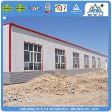 Construction rapide à bas prix C type purlin steel structure factory building