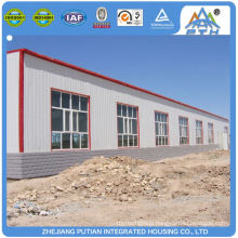 fast build cheap C type purlin steel structure factory building