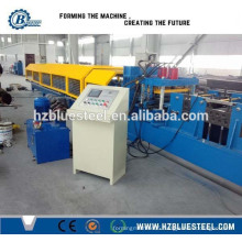 Automatic Efficiency C & Z Shape Purlin Making Machine / Steel Metal C Purlin Roll Forming Machine