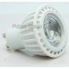 5W Dimmable CE, RoHS approuvé LED GU10 COB