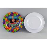 Customer Print Melamine Round Dish And Plate