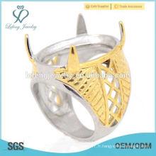 2015 mode belle personnalisée Indonésie cincin en acier inoxydable modèles anneaux pour hommes