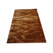 Moderner Stil Dünner Seide Teppich