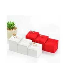 Fábrica de exibição de anel de jóias de couro de Guangzhou Wholese (JS009)