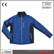 Wholesale Woven OEM Service Fashion Sports Man Knitted Fleece Jacket