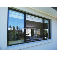 Portes et fenêtres en aluminium coulissant à double vitrage étanches sans soudure