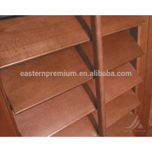 Interior de persianas de plantio bi-fold de interior de persianas 89mm basswood interior no windows