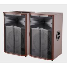 Alto-falante profissional de palco DJ de 300 W e 15 polegadas
