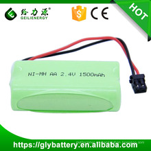BT-1007 1500mah NI-MH AA batería 2.4V OEM exportación sobre el precio de wholsale del mundo