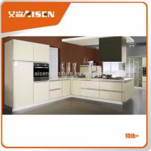 Échantillon disponible usine directement meilleure cuisine meubles de cuisine design moderne de Hangzhou